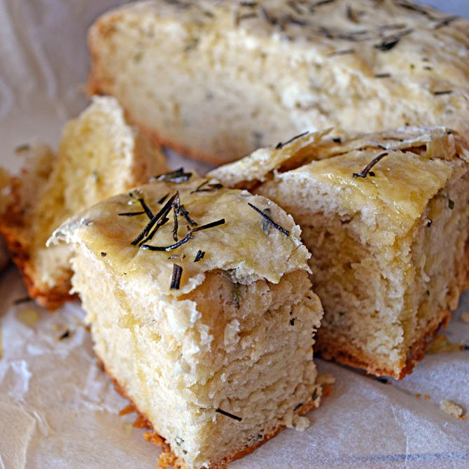 Rosemary Olive Oil Bread