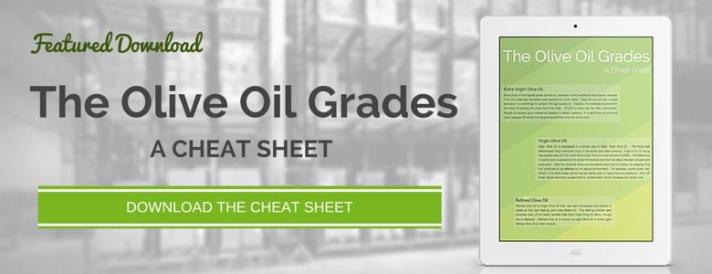 Download The Olive Oil Grades - A Cheat Sheet