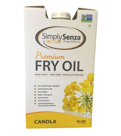 Simply Senza High Oleic Non-GMO Canola Oil