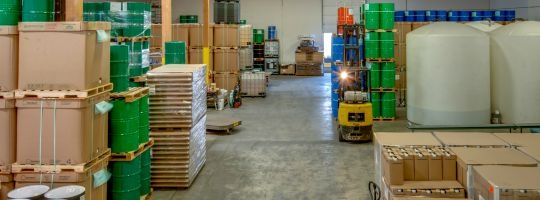 Fats and Edible Oils Production and Warehouse