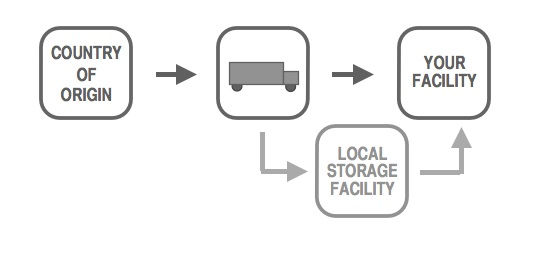 direct delivery program diagram