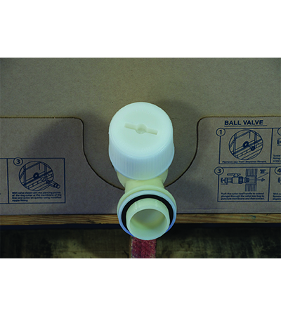 Cardboard Oil Tote Dispensing - 6