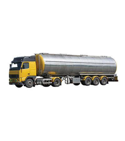 tanker truck of olive oil