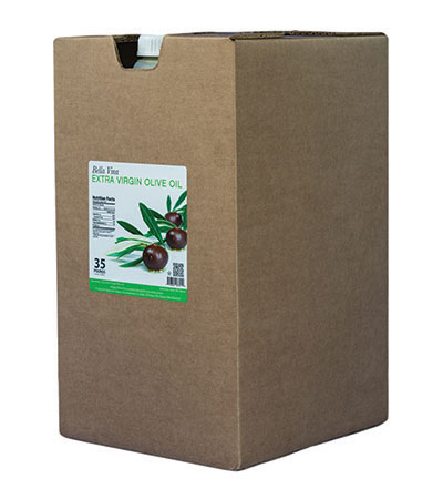 35 lber case of extra virgin olive oil