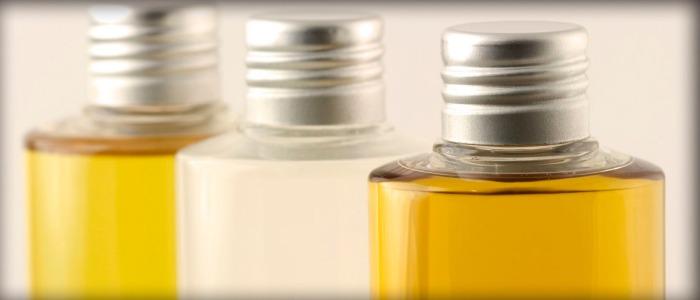 Olive oil bottles for testing