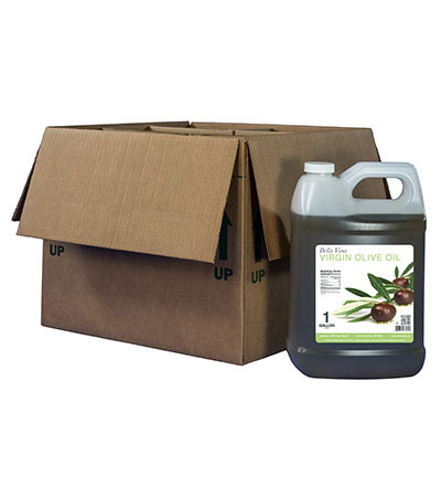 6/1 gallon case virgin olive oil
