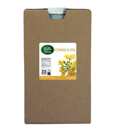 food service 35 lb container canola oil