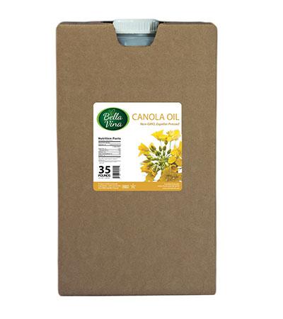 non-gmo canola oil food service 35 lb container