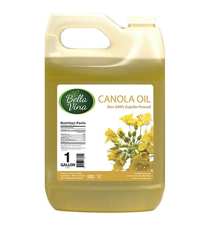 non-gmo canola oil 1 gallon food service