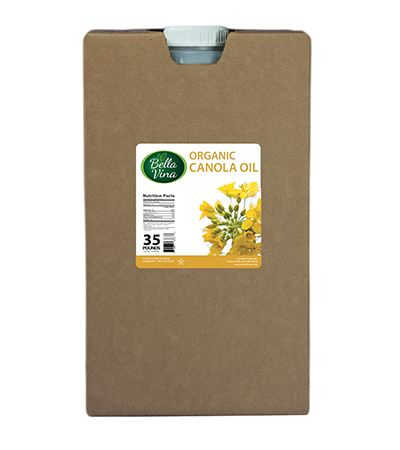 organic canola oil bulk manufacturing