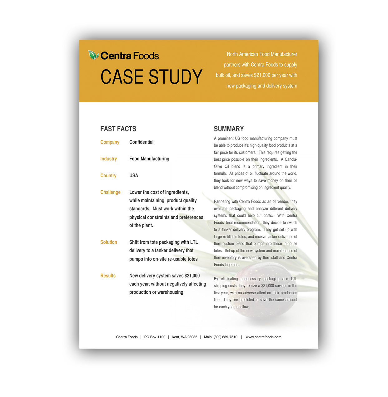 Download Case Study: Tankers Delivering Into Totes
