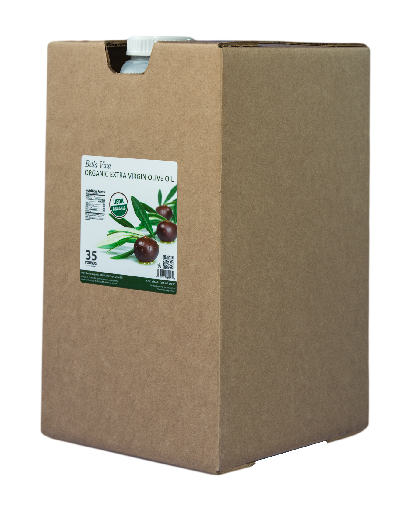 35Lb-Container bulk packaging sizee