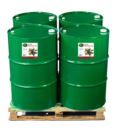 Buy Olive Pomace Oil in Drums by the pallet in bulk