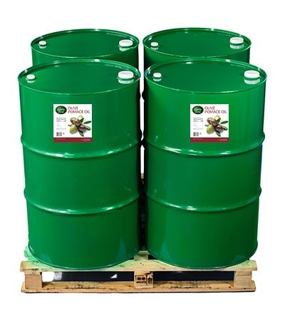 Olive Pomace Oil in Bulk Drums for Soap Making