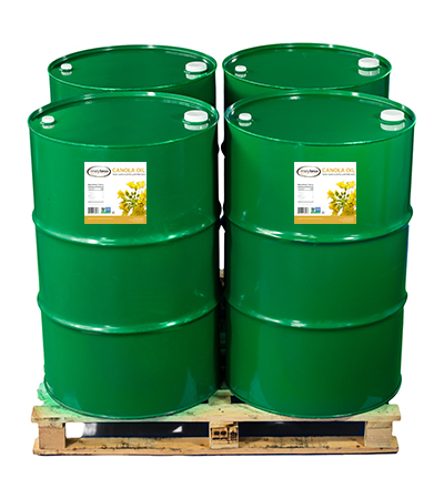 Buy Non-GMO Canola Oil Drums for Food Manufacturing