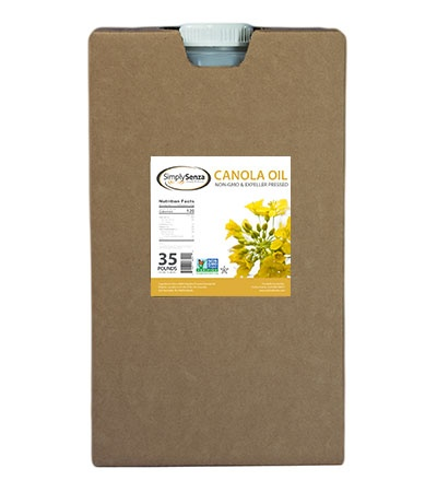 Non-GMO Canola Oil - 35 Lb. Containers - Pallet Buy Online