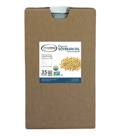 Buy Organic Soybean Oil in Bulk 35 Lb. Containers