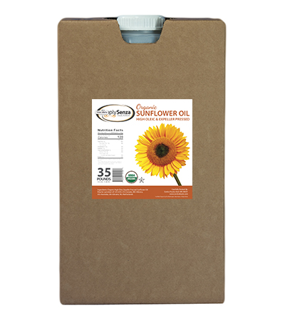 Organic Sunflower Oil - 35 Lb. Container