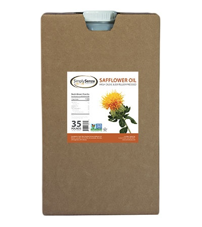 Safflower Oil High Oleic - 35 Lb. Containers - Pallet Buy Online