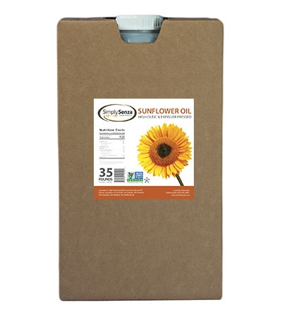 Sunflower Oil, High Oleic - 35 Lb. Containers - Pallet Buy Online