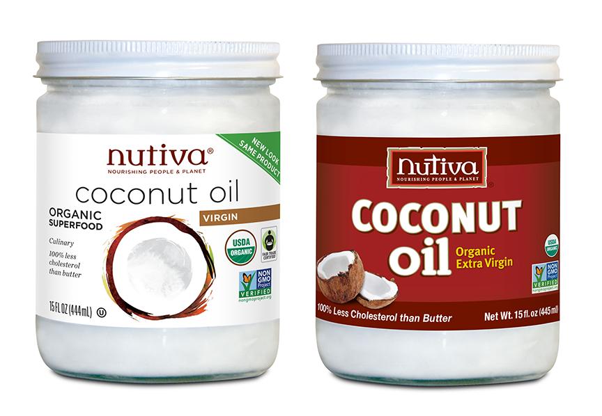 Nutiva Coconut Oil vs Organic Coconut