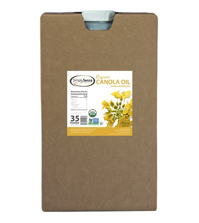 Organic Canola Oil in 35 Lb. Containers