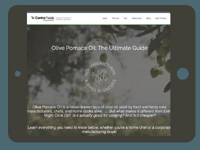 Olive Pomace Oil - Ultimate Guide