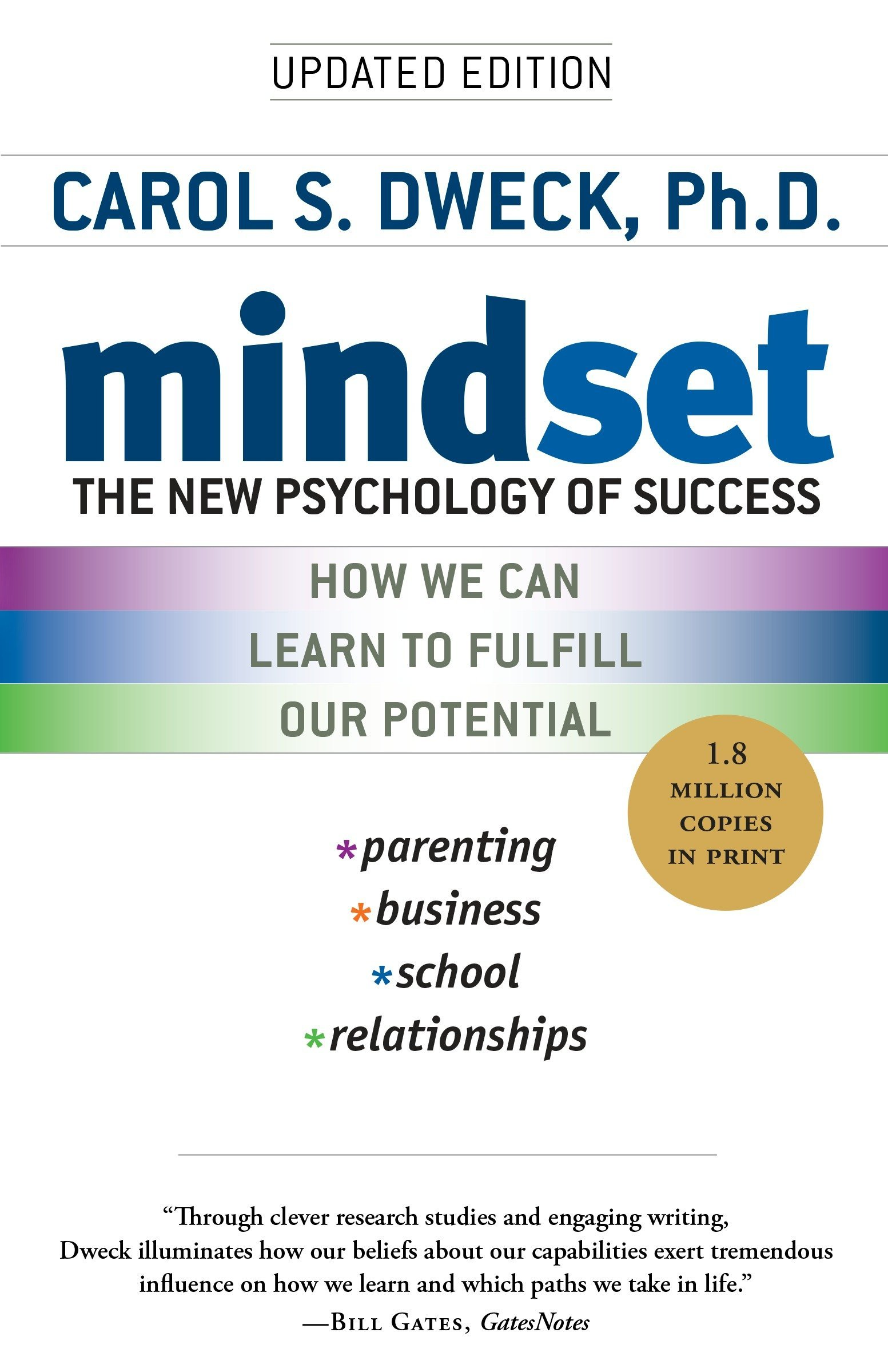 mindset new psychology of sucess