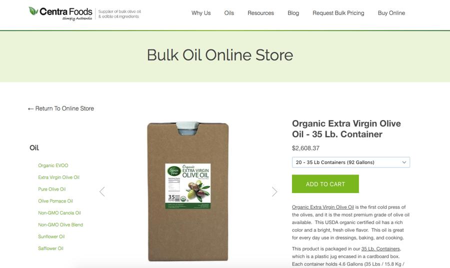 How to order bulk Organic EVOO Online