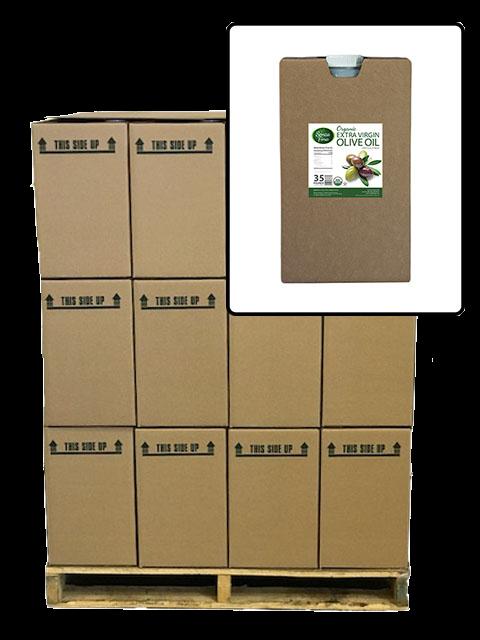 Full Pallet of Organic Extra Virgin Olive Oil JIBs