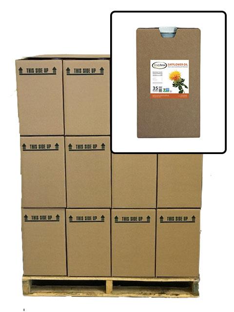 Safflower Oil - Full Pallet - 35 Lb. Container