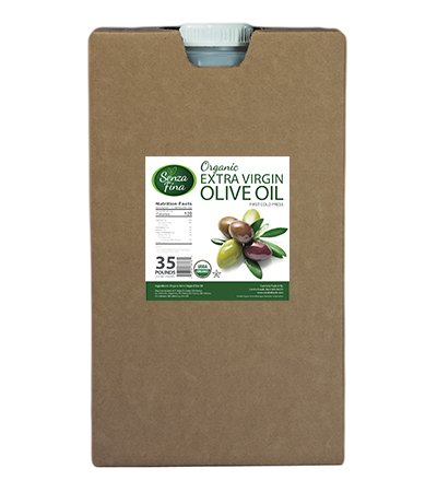 Organic Extra Virgin Olive Oil - 35 Lb. Container