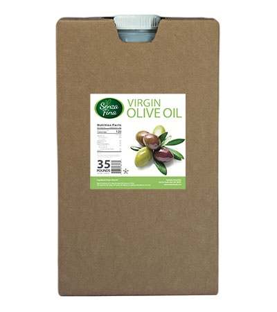 35 Lb. Container Virgin Olive Oil