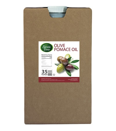 olive pomace oil 35 lb container