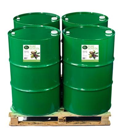 pure olive oil bulk drums