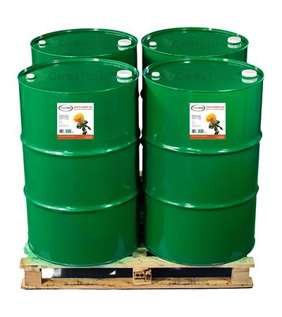 Organic Safflower Oil Drums