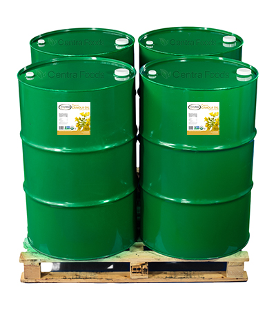 Organic Canola Oil - Bulk Drums for Manufacturing