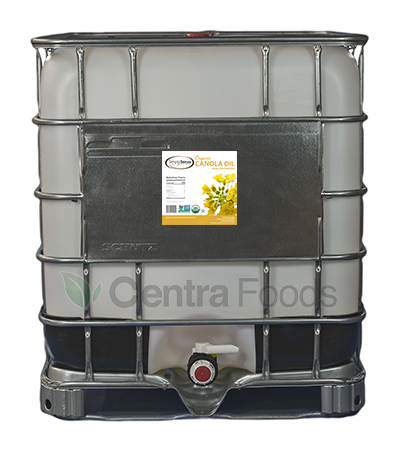 Organic Canola Oil Industrial Tote