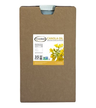 Non-GMO Canola Oil in 35 Lb. Containers for Food Service