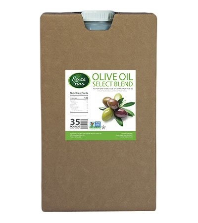 oil blend 35lb containers