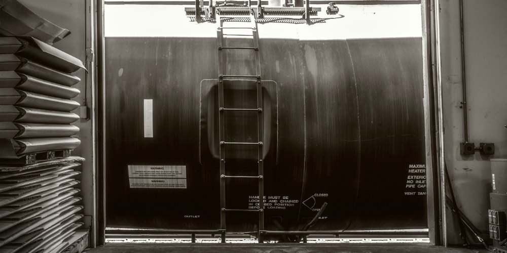 rail tankers of edible oil