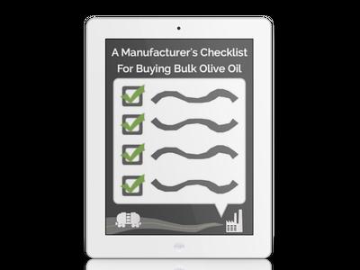 The Manufacturer's Checklist For Buying Bulk Olive Oil